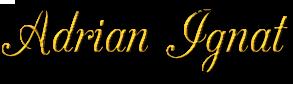 Logo Adrian Ignat